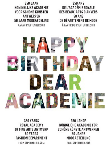 Happy birthday dear Academie
