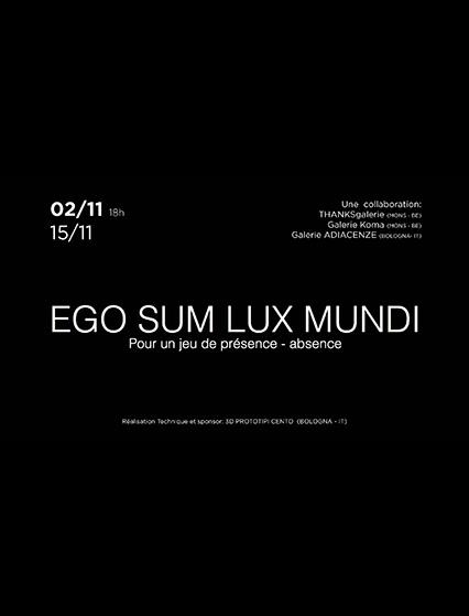 Ego sum 2017